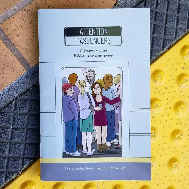 adventures on public transportation test print book