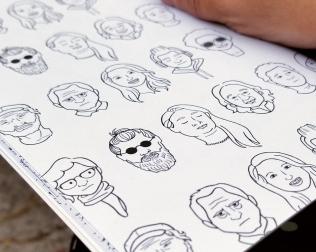 faces-closeup
