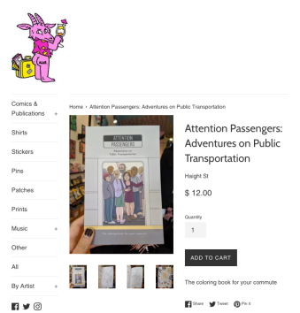 attention passengers book silver sprocket